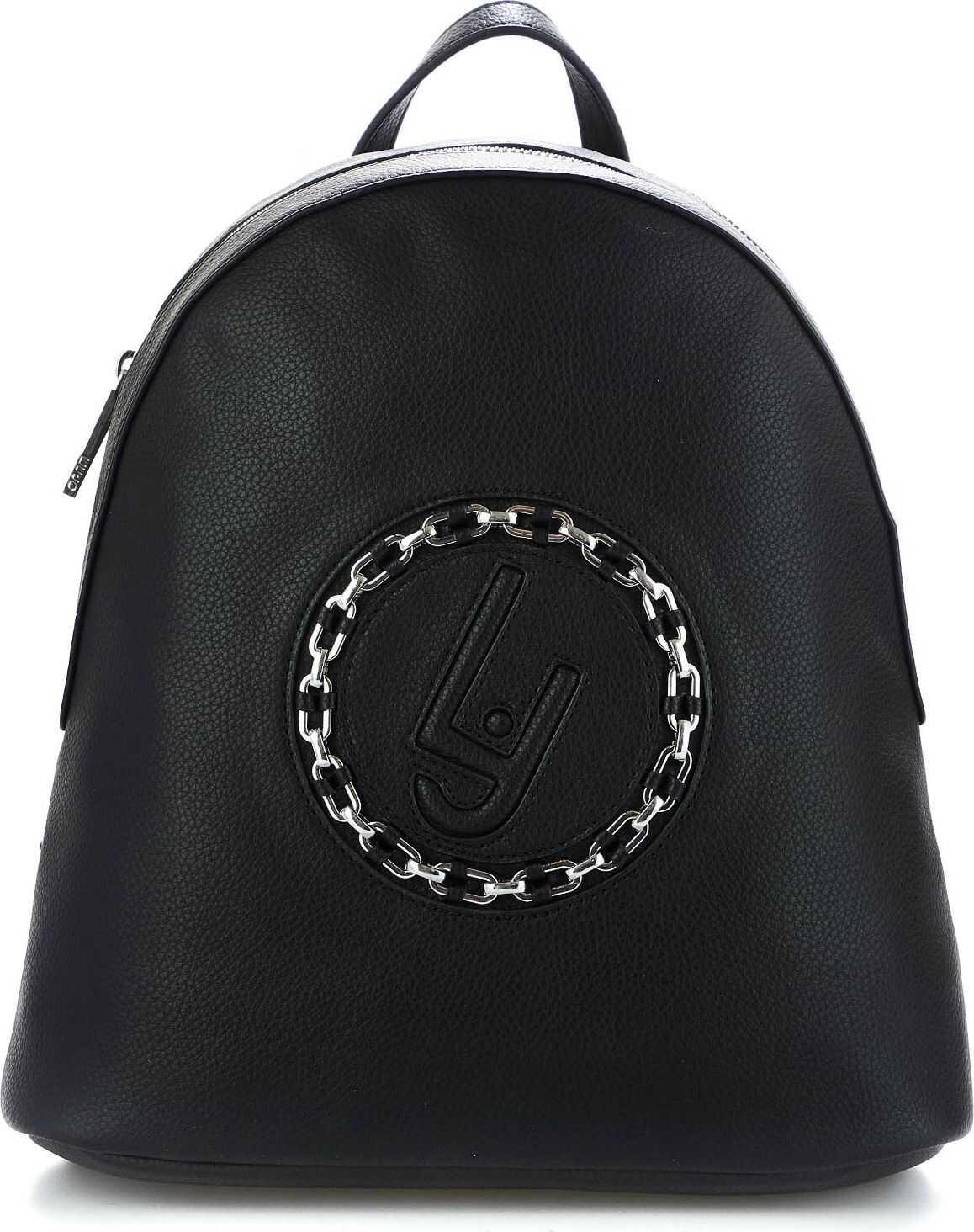 Liu Jo Backpack with logo detail Black