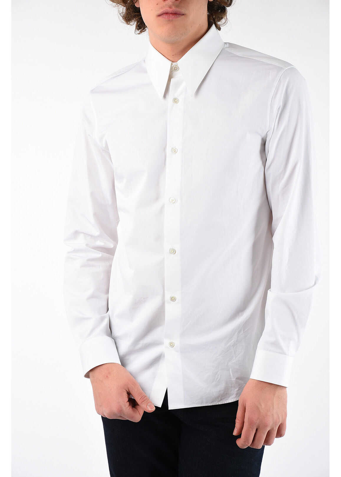 Calvin Klein 205W39NYC Embroidery Shirt WHITE