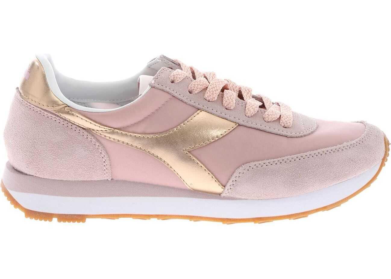 Diadora Heritage Koala H Metallica Sneakers In Pink Pink