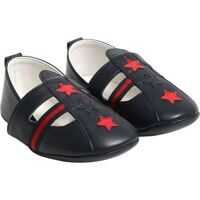 Botosei Blue Shoes With Stars Fete