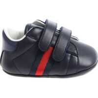 Botosei Blue Sneakers With Red And Blue Logo Baieti