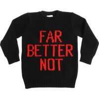 Pulovere casual Black Pullover With Red Embroideries Baieti