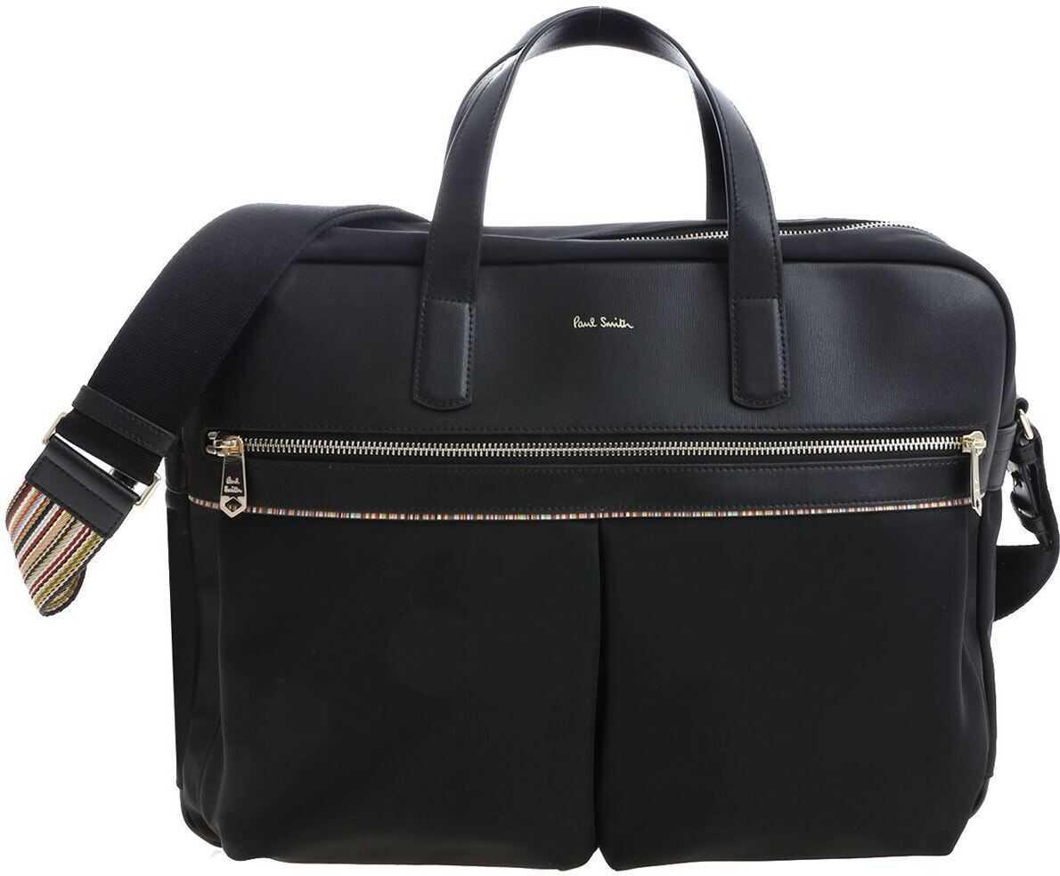 Paul Smith Black Cross-Body Bag With Logo M1A 5554 A40055 79 Black imagine b-mall.ro
