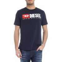 Tricouri Just-Division Blue T-Shirt Barbati