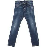 Blugi Cool Guy Blue Jeans With Vintage Effect Baieti