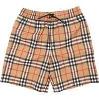 Bermude Galvin Check Fabric Swimsuit Baieti