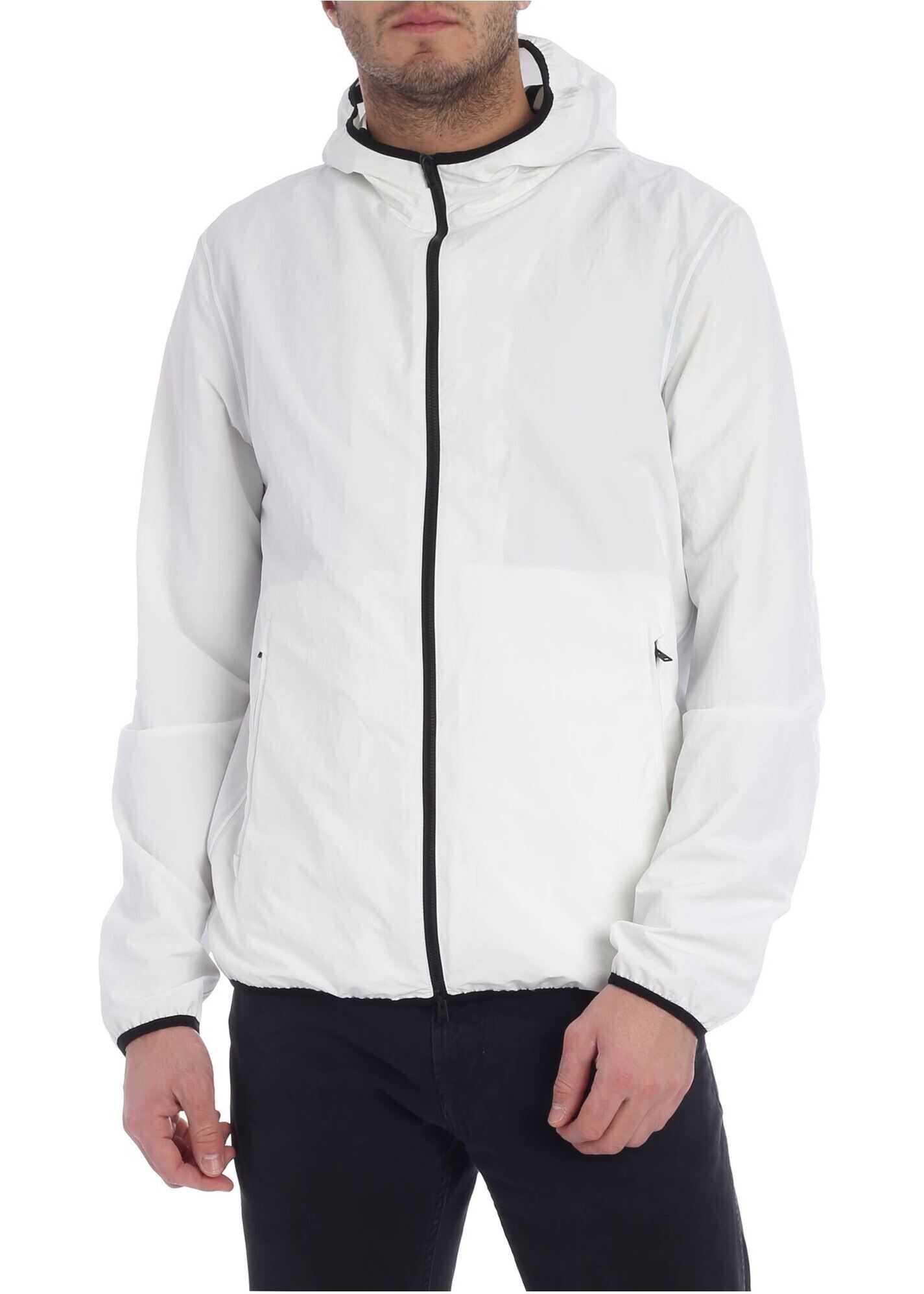 Hooded Jacket White