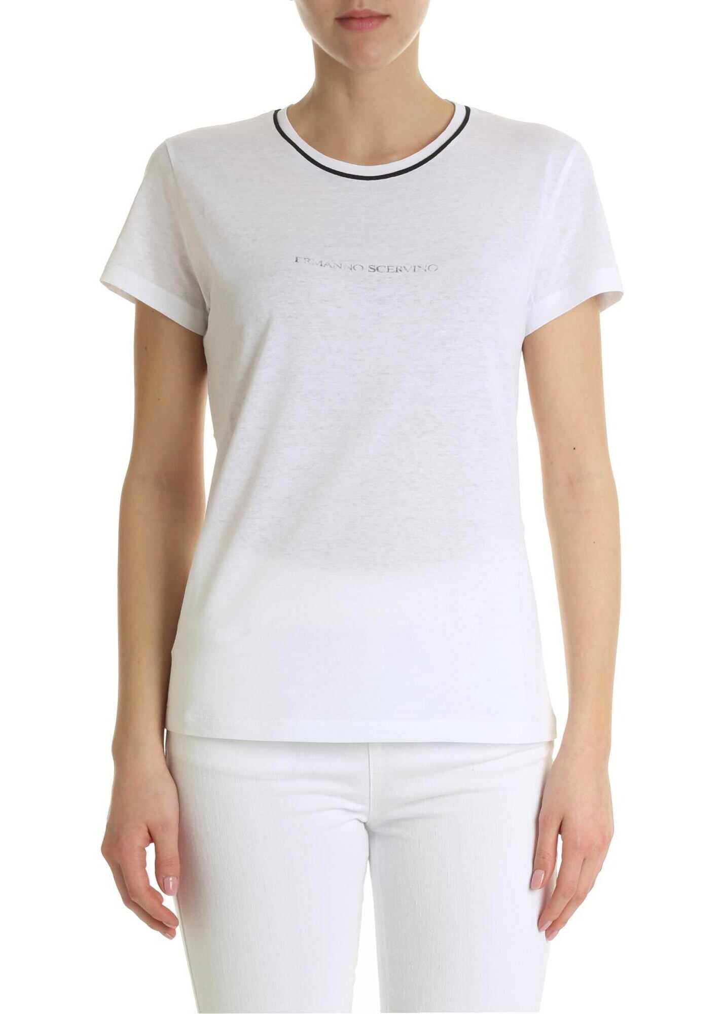 White Handmade T-Shirt