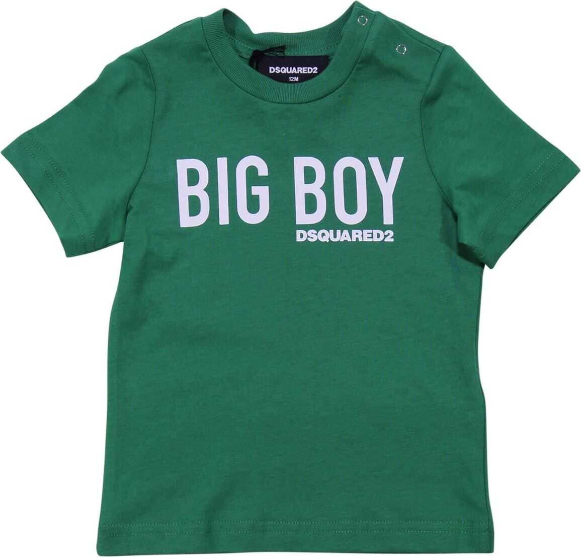 Green Big Boy Printed T-Shirt