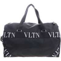 Trolere Duffle Bag In Black With Branded Inserts Barbati