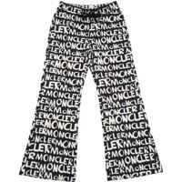 Pantaloni casual Moncler Printed Black Trousers Fete