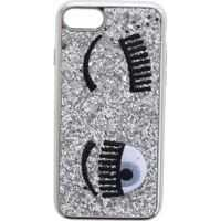 Huse mobil & tablete Silver Glitter Flirting Cover For I-Phone 7 And 8 Femei