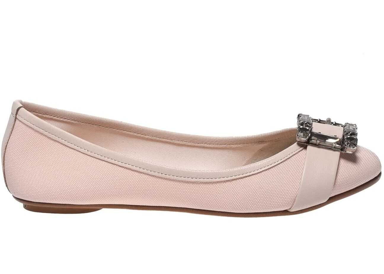 Anna Baiguera Pink Annette Flex Flats Pink