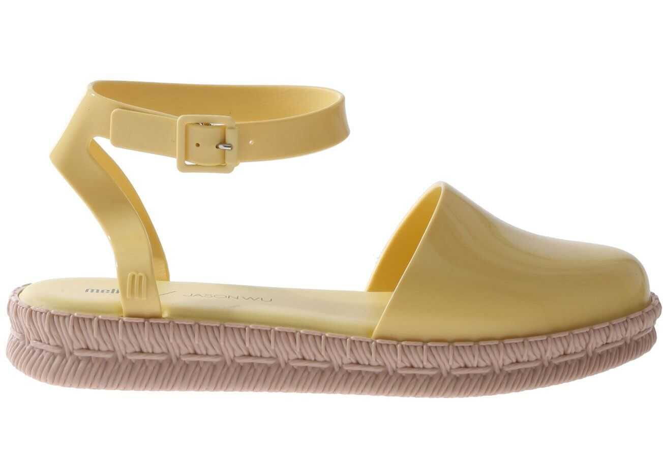 MELISSA Yellow Espadrilles Yellow