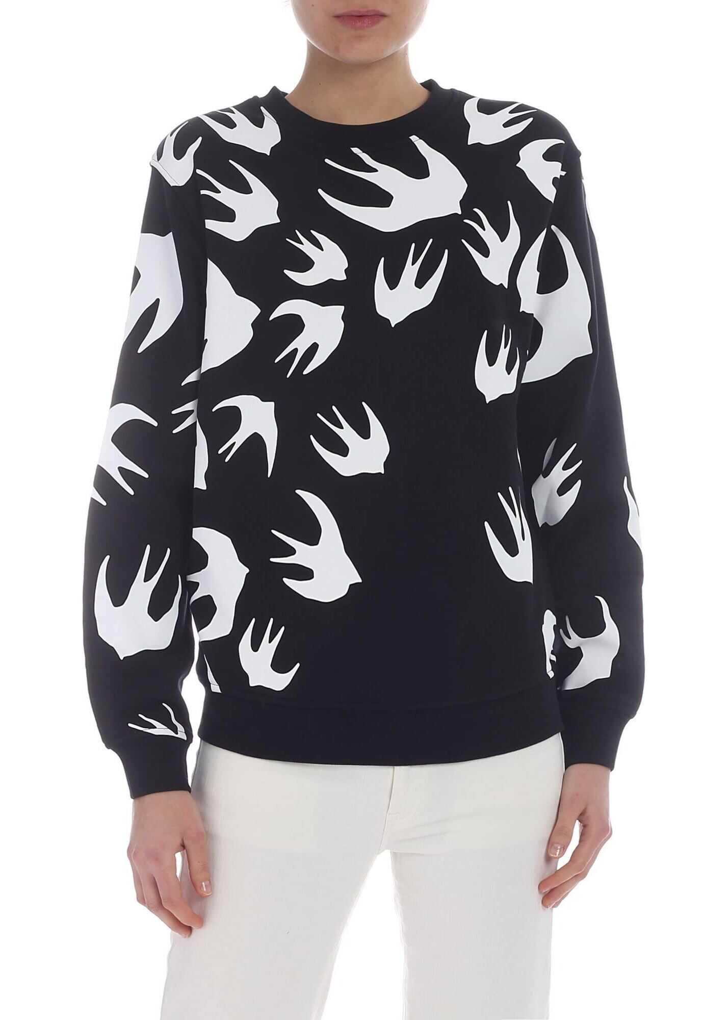 MCQ Alexander McQueen Mcq Sweatshirt With Swallows Black