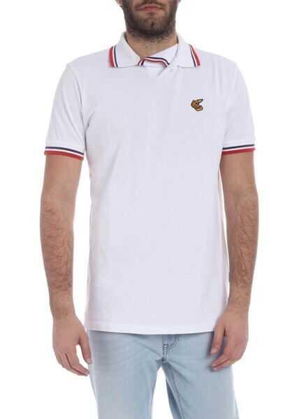 Tricouri Polo Barbati Vivienne Westwood Anglomania Squiggle Shirt Polo In White