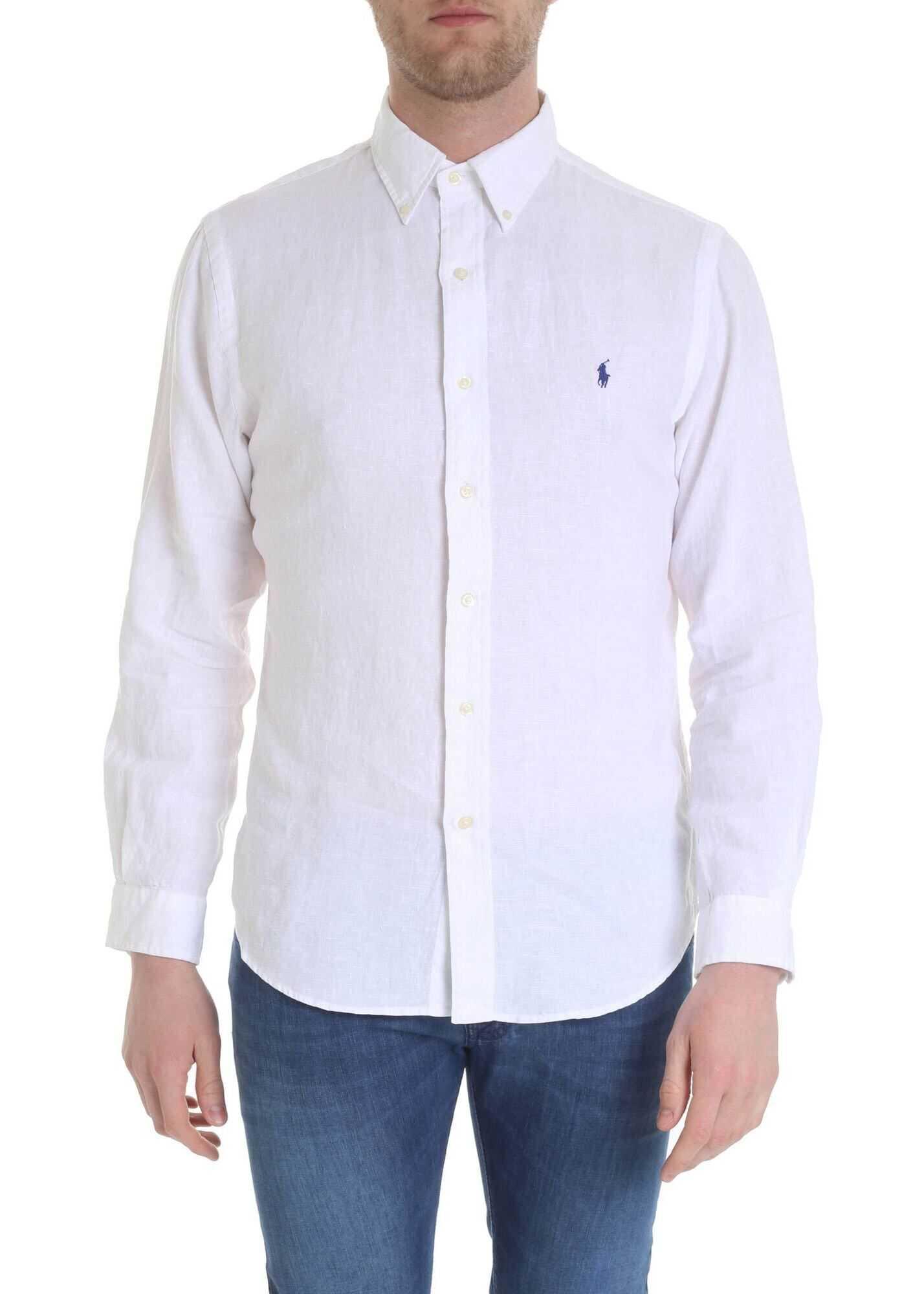 Ralph Lauren White Ralph Lauren Shirt White imagine