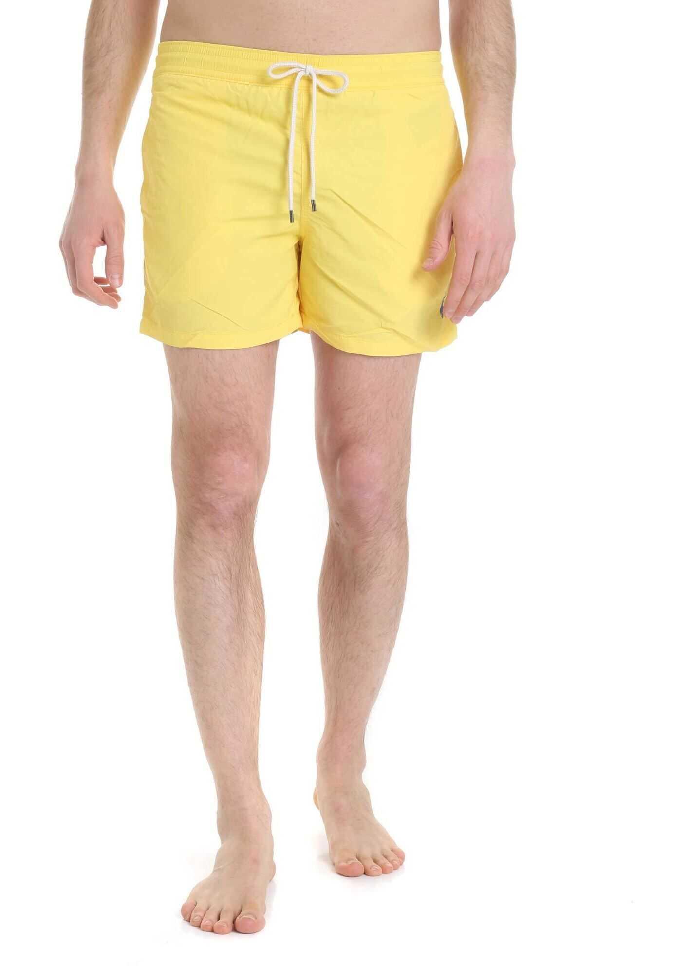 Ralph Lauren Yellow Polo Ralph Lauren Boxer Yellow imagine