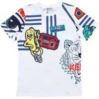 Tricouri White Wax T-Shirt Baieti