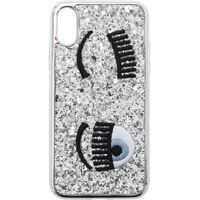 Huse mobil & tablete Flirting Silver Cover For Iphone X Femei