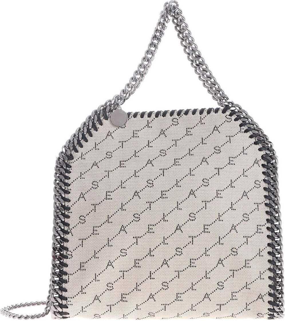 adidas by Stella McCartney Beige Mini Falabella Tote Bag Beige