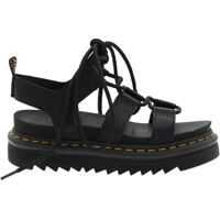 Sandale Black Leather Nartilla Hydro Sandals Femei