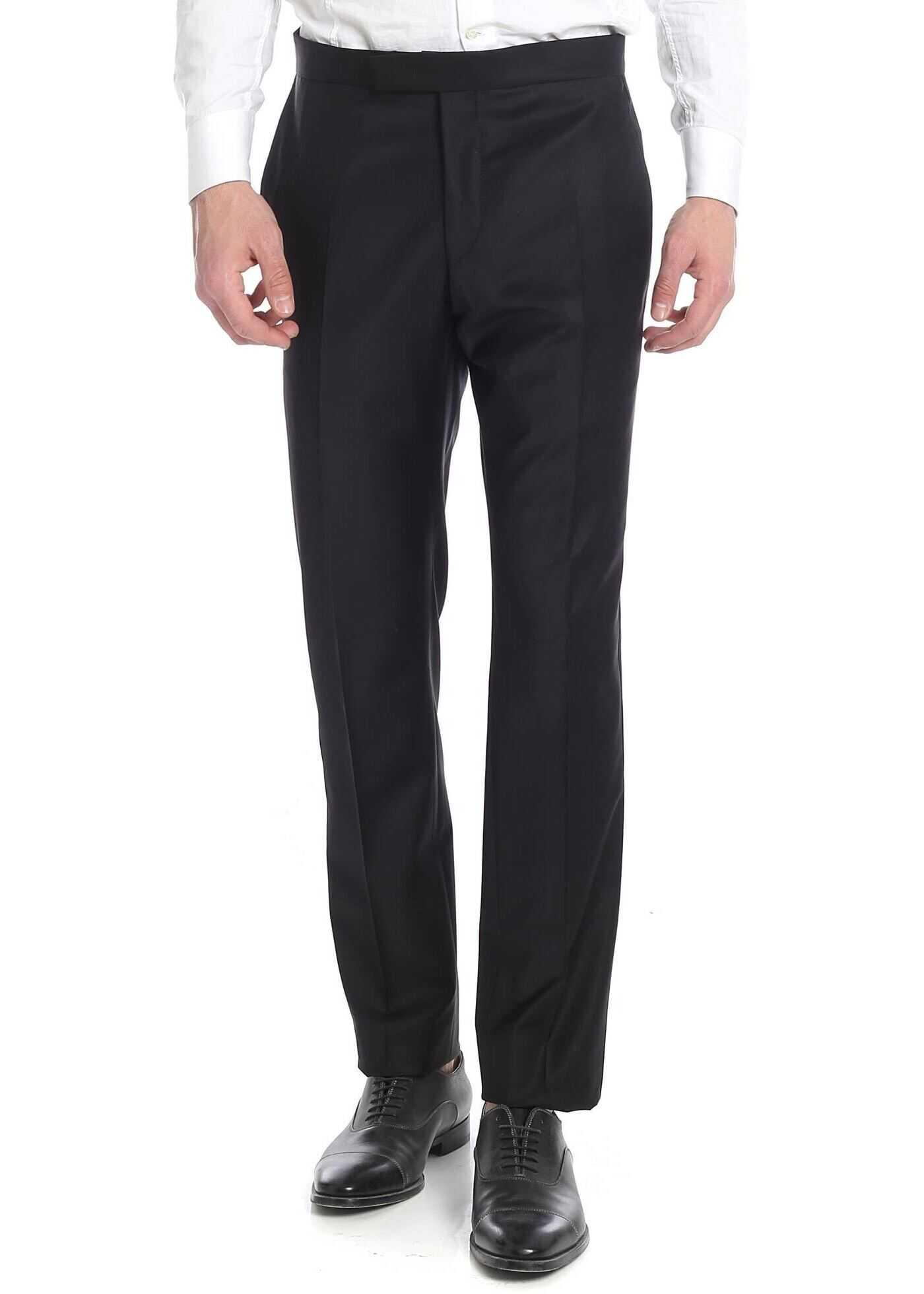 Karl Lagerfeld Classic Black Trousers Black imagine