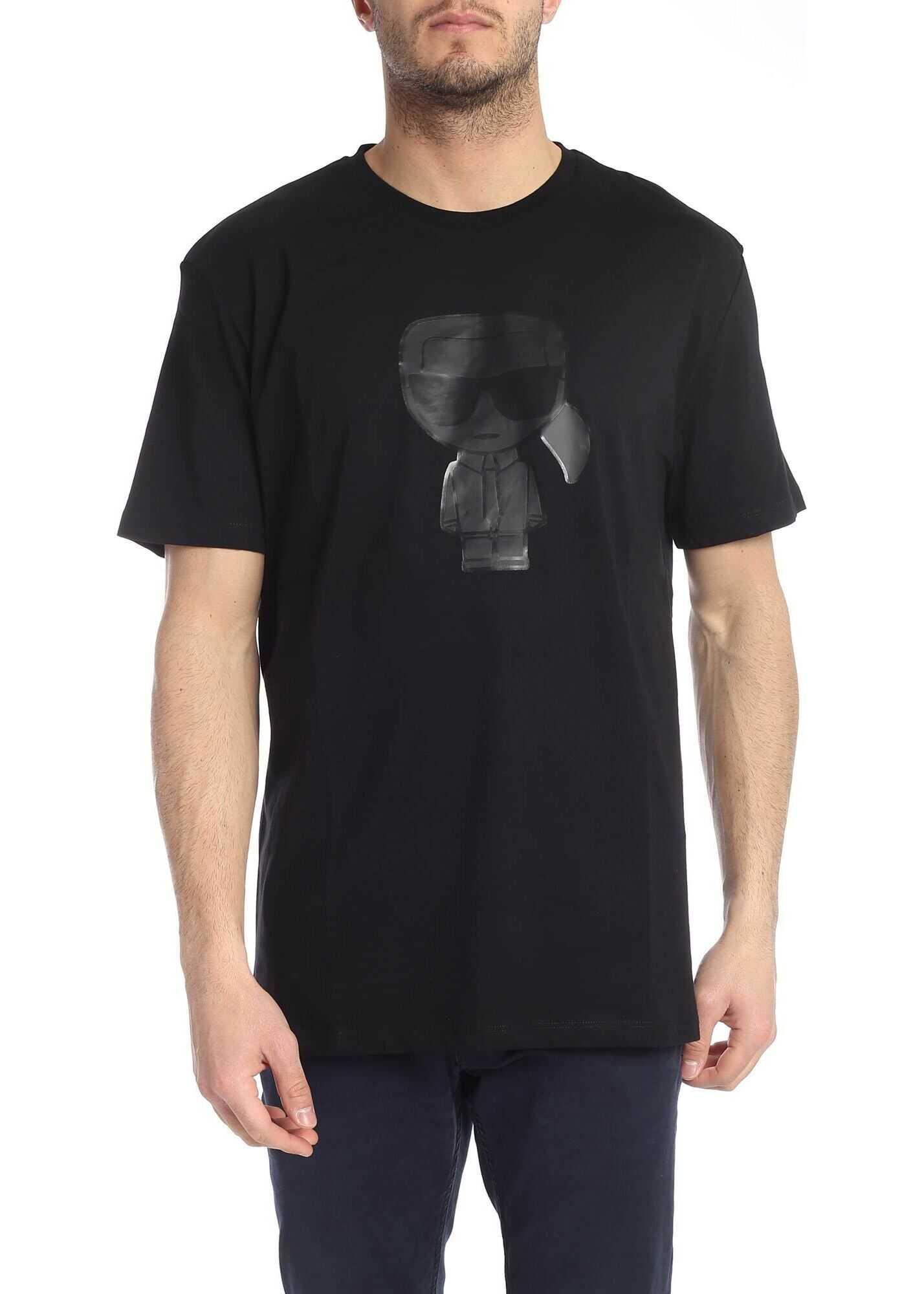 K Ikonik Black T-Shirt