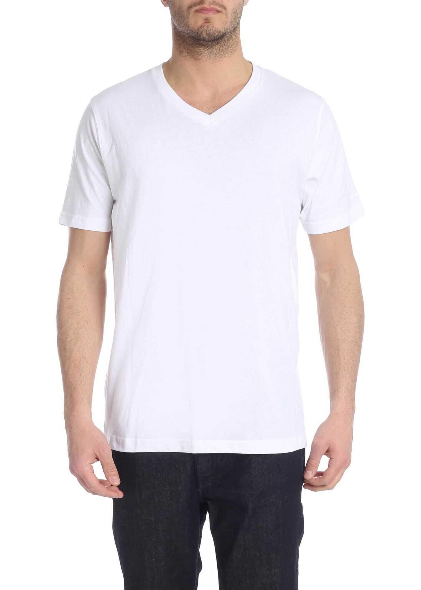 Set Of 2 White T-Shirts