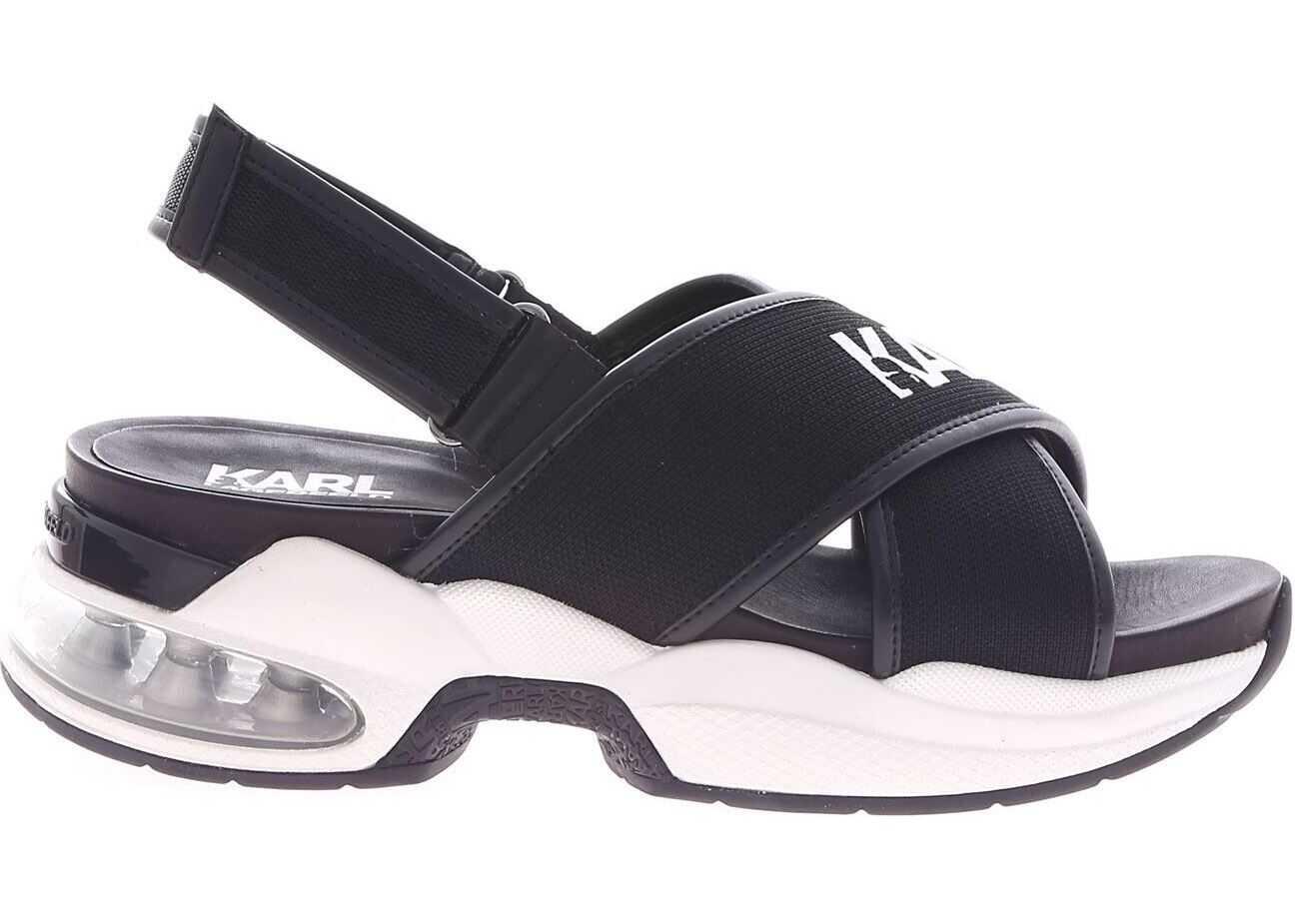 Ventura Black Sandals