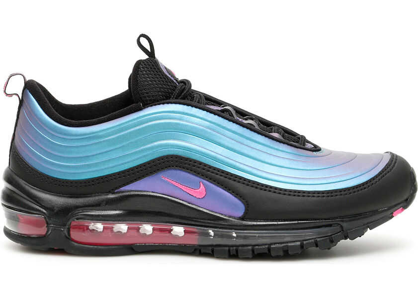Nike Air Max 97 Lx Sneakers BLACK LASER FUCHSIA THUNDER GREY Boutique Mall