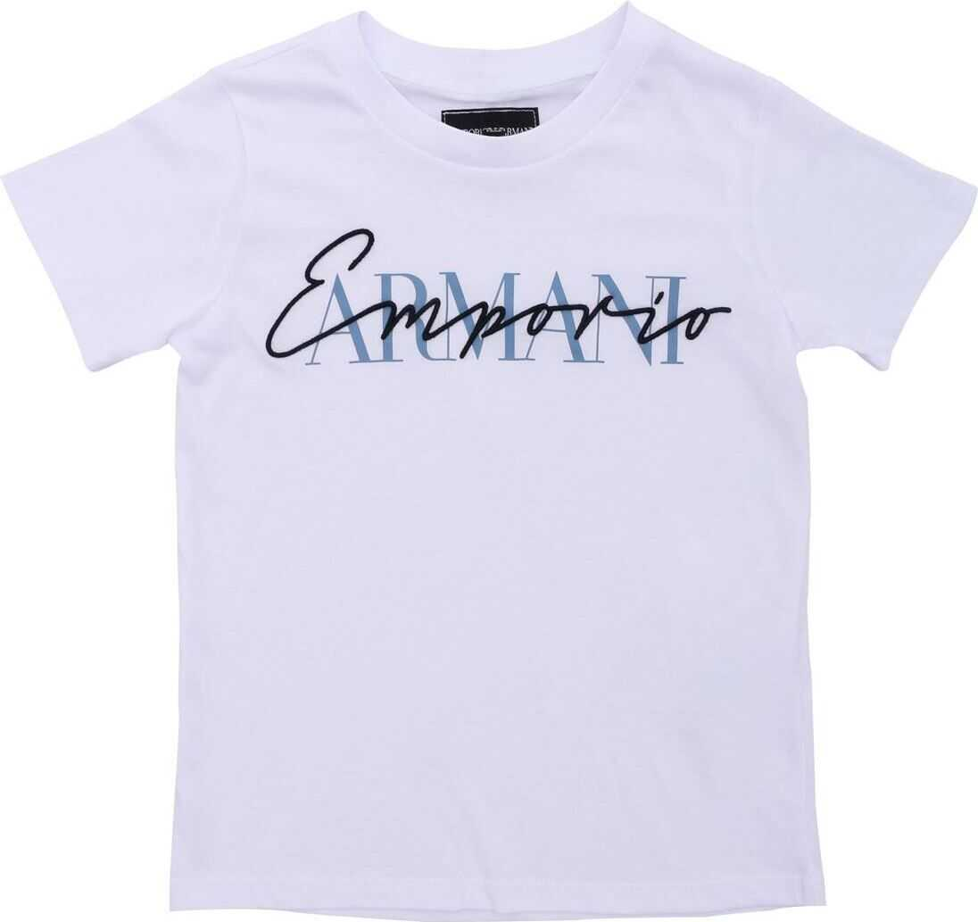 Emporio Armani Printed T-Shirt In White
