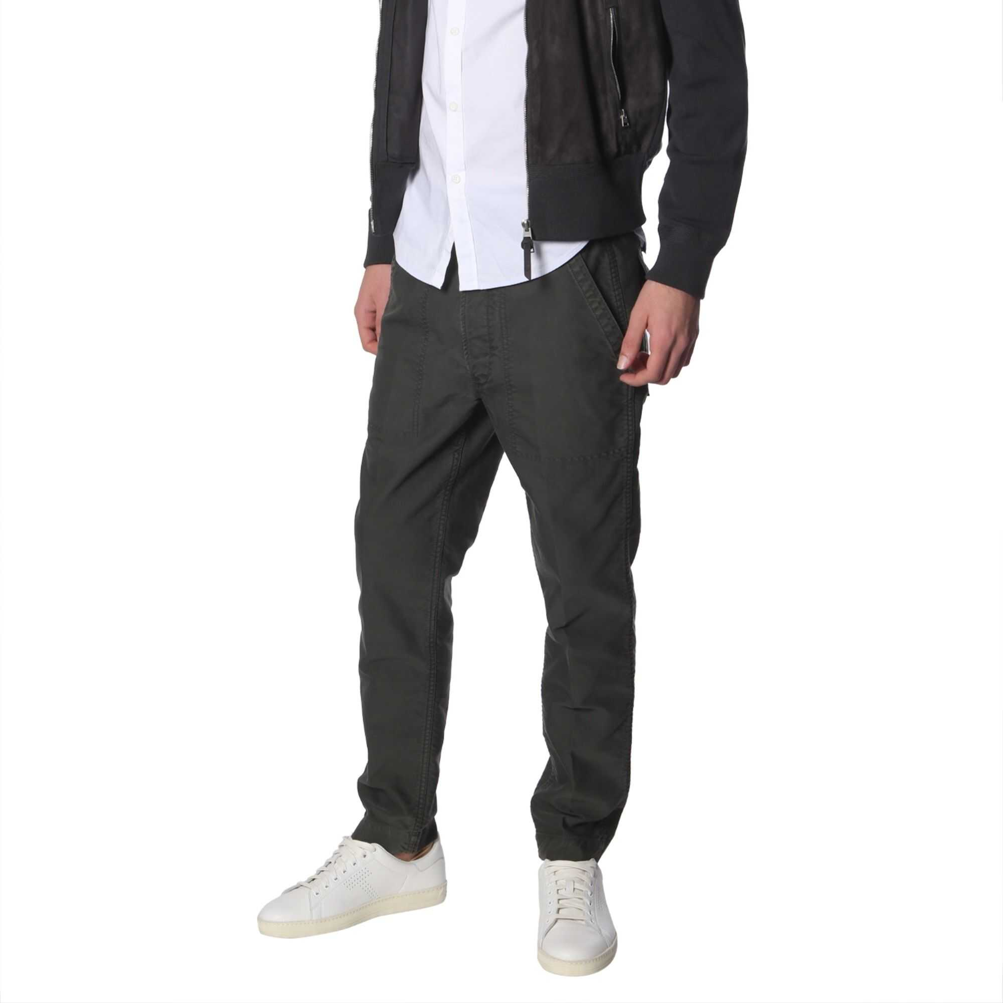 Tom Ford High Neck Jacket With Zip GREY