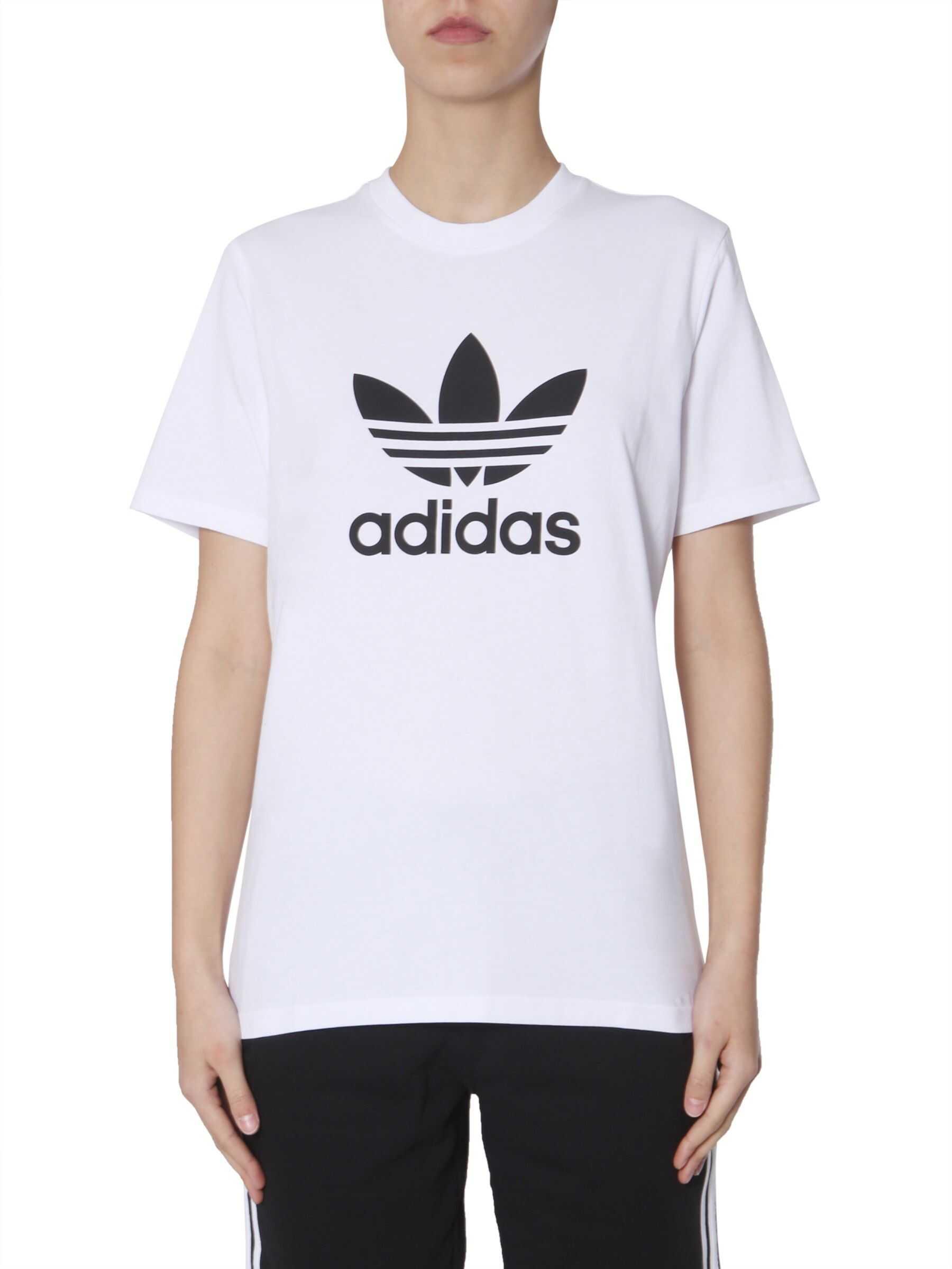 adidas Originals Crewneck T-Shirt WHITE