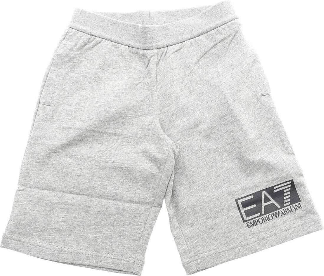 Gray Sweat Bermuda