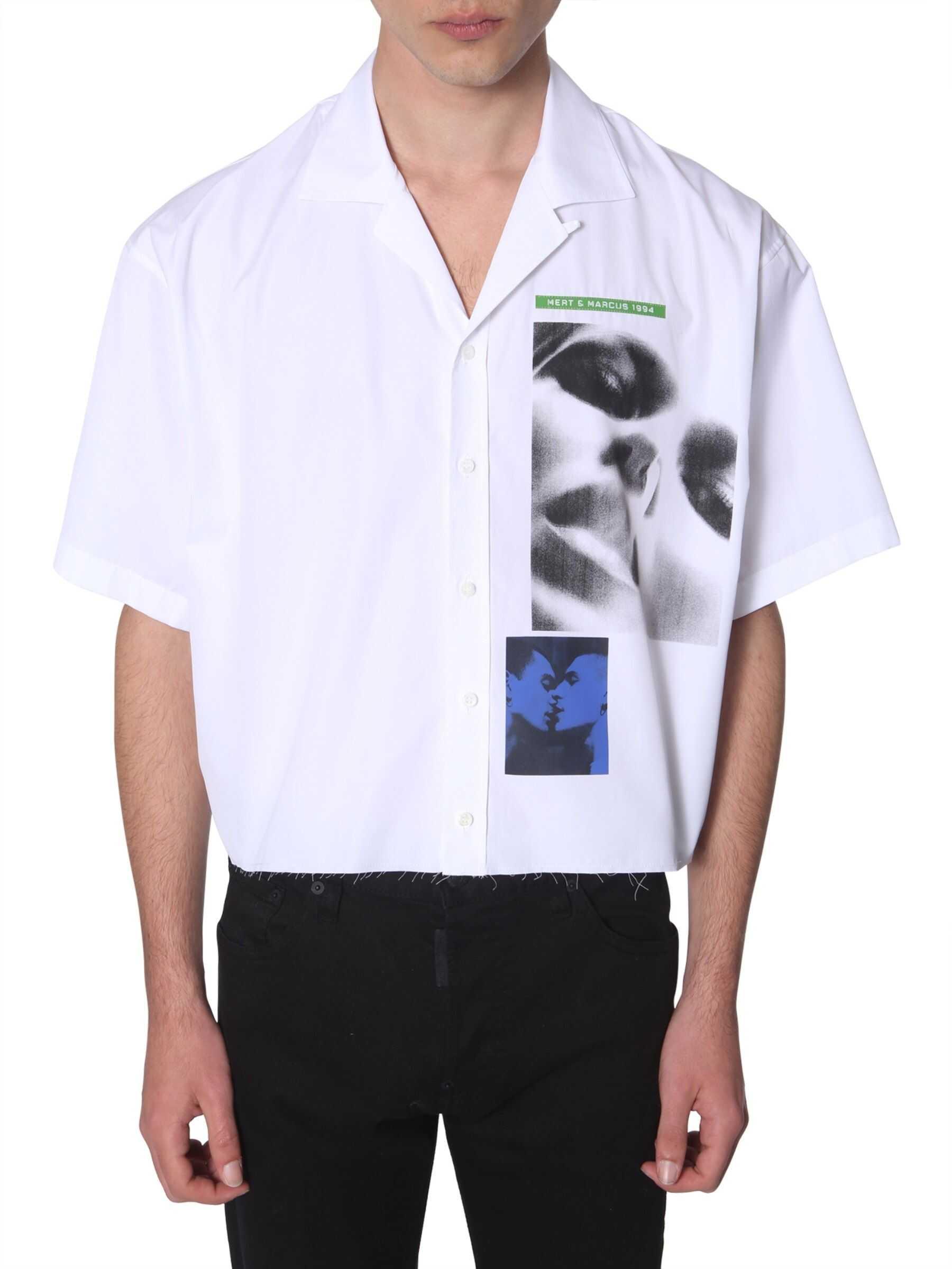 DSQUARED2 Short-Sleeved Shirt WHITE