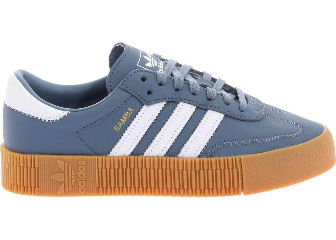 adidas Adidas Originals Sambarose Sneakers In Light Blue Light Blue