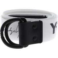 Curele Adjustable Logo Belt In White Barbati