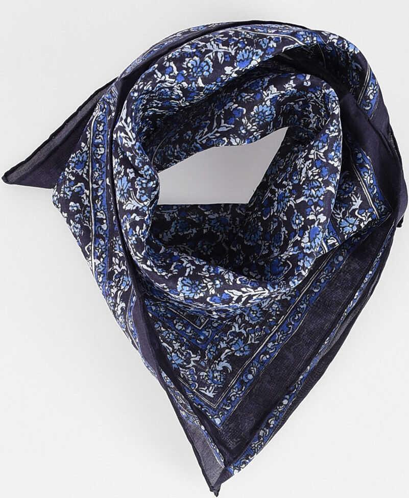 Saint Laurent 39x39cm Silk Handkerchief MULTICOLOR