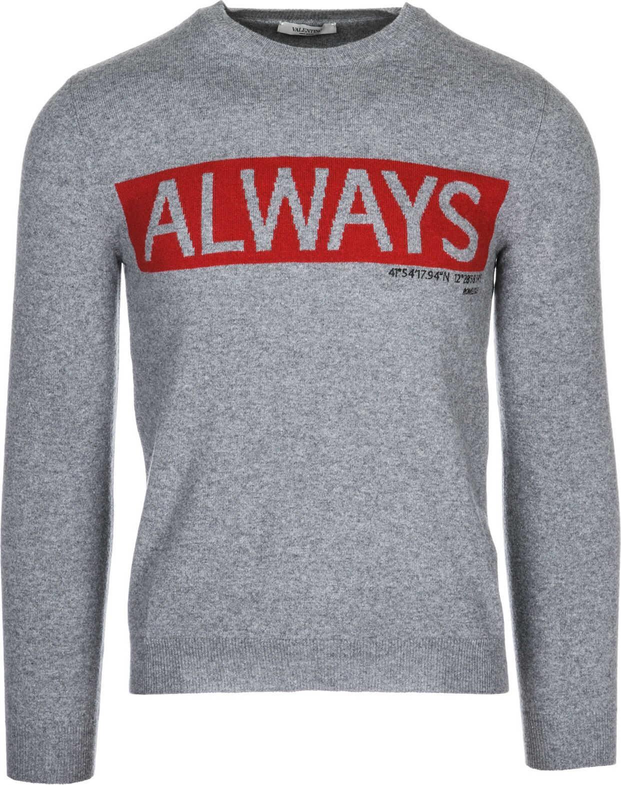 Valentino Garavani Pullover Always* Grey