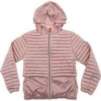 Geci de iarna Pink Iris Hooded Down Jacket Fete