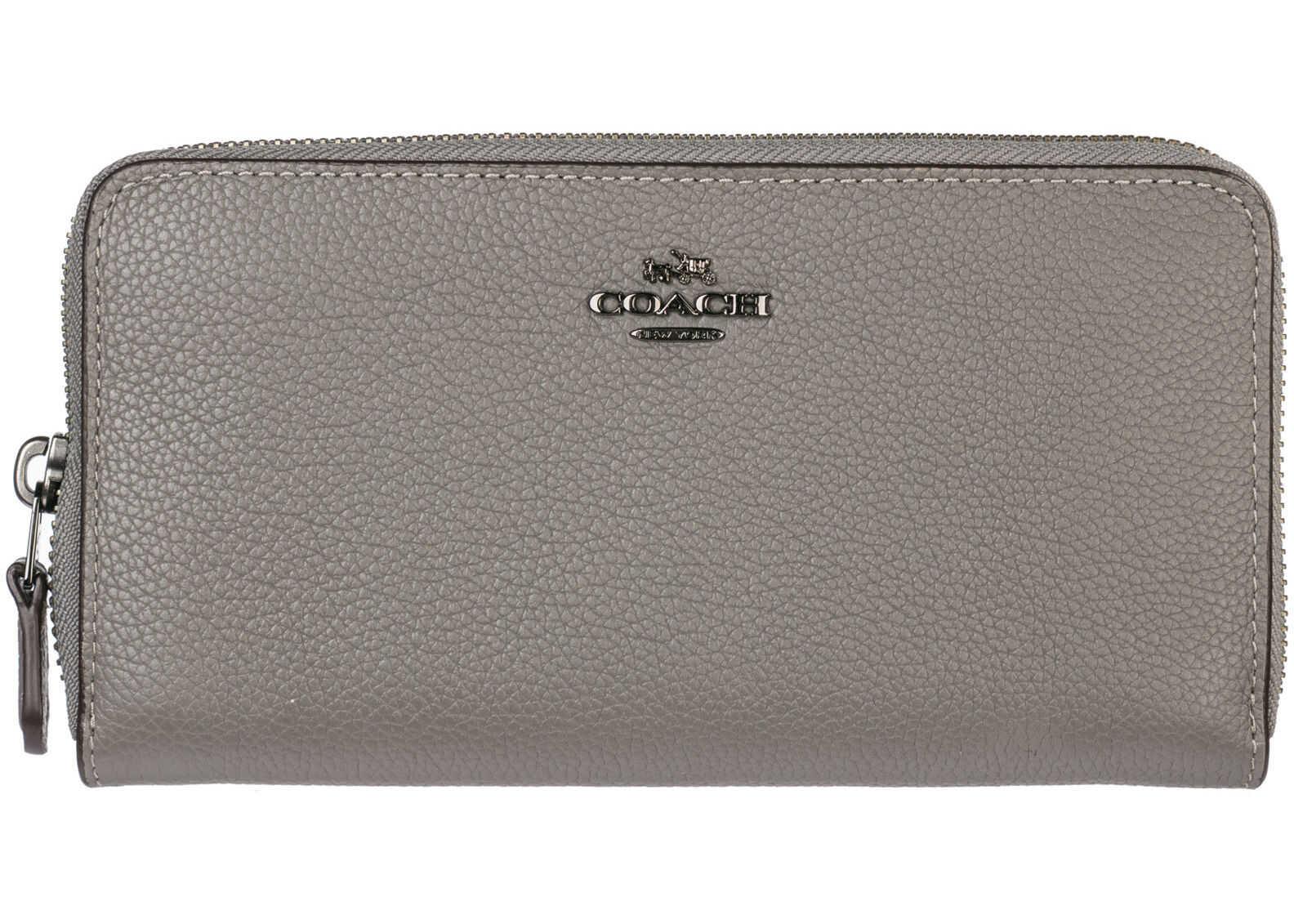 COACH Card Bifold Grey