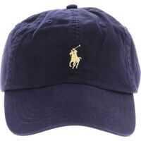 Sepci Blue Baseball Cap With Logo Barbati