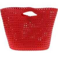 Genti tip postas MELISSA Shoulder Bag In Red Scented Rubber