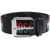 Curele Moschino Canvas Belt Italian Logo