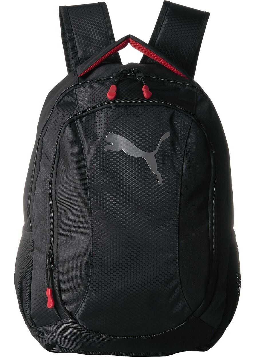 PUMA Equivalence Backpack Black/Red