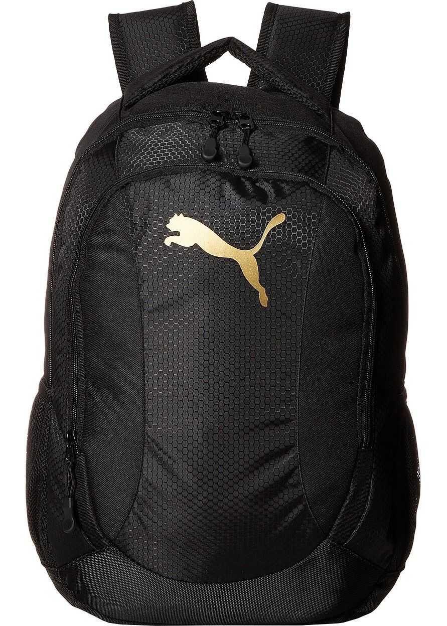 PUMA Equivalence Backpack Black/Gold