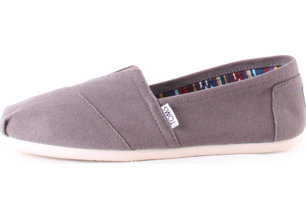 TOMS Classic Slip On In Grey* Grey