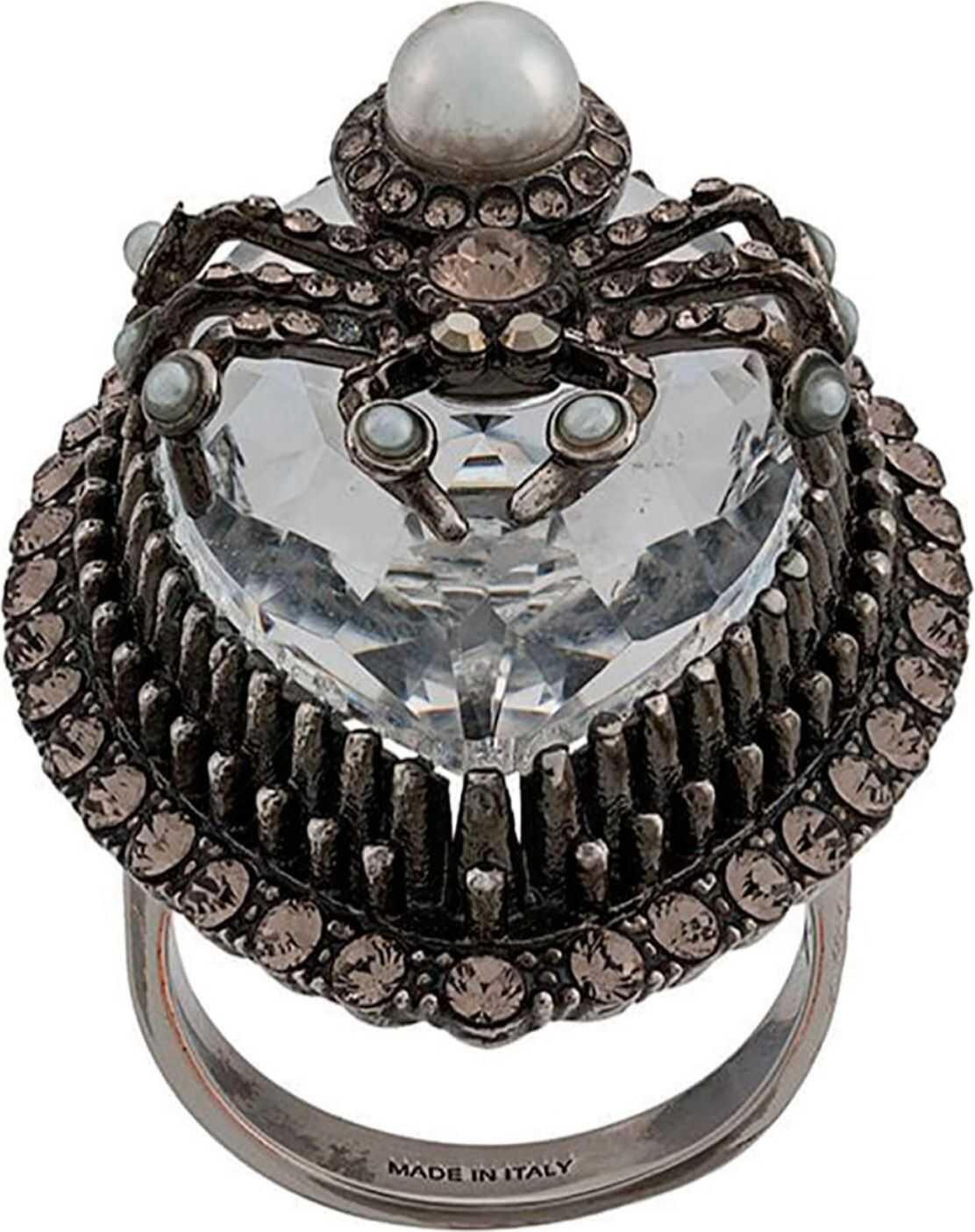 Alexander McQueen Spider Ring SILVER