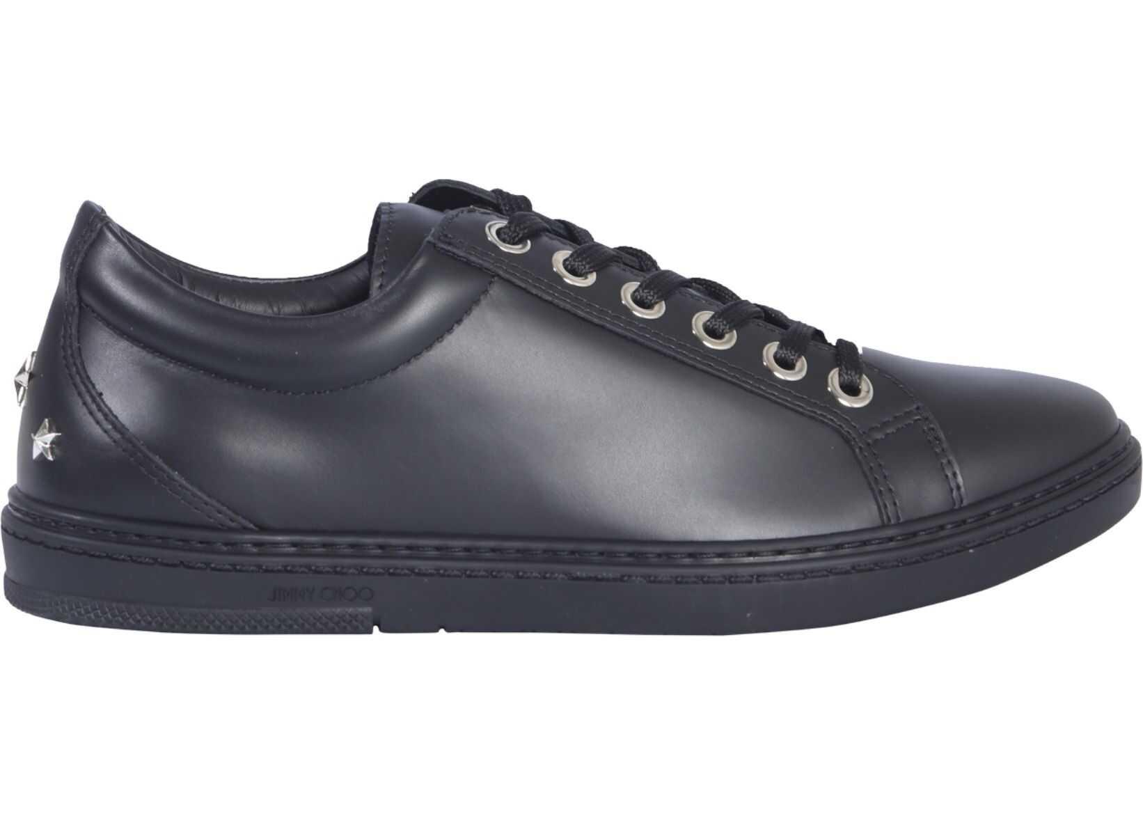 Jimmy Choo Cash Sneakers BLACK